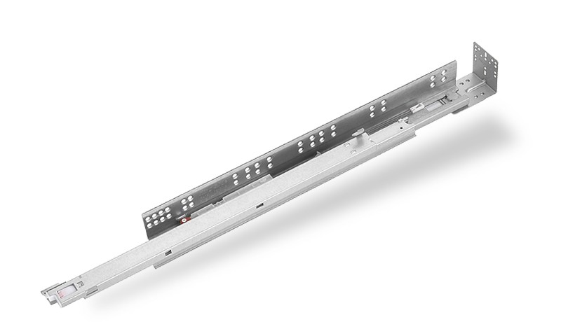 1A88F Push-Open with Silent Soft-Closing Undermount Slide for Face Framed Cabinets (16mm)
