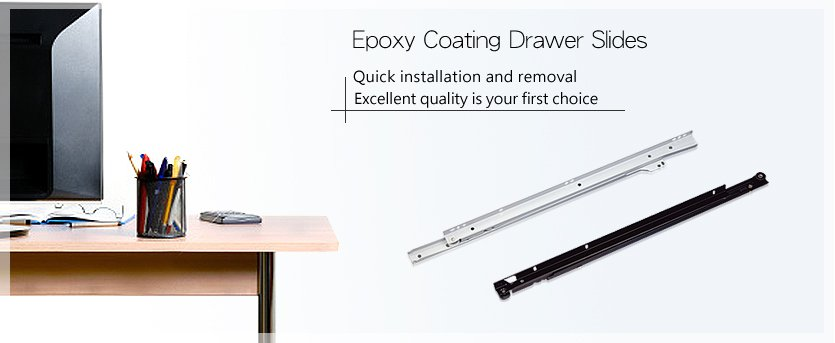 Epoxy Coating Drawer Slides